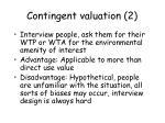 contingent valuation 2