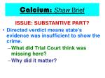 calcium shaw brief20