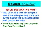 calcium shaw brief21