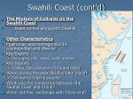 swahili coast cont d13