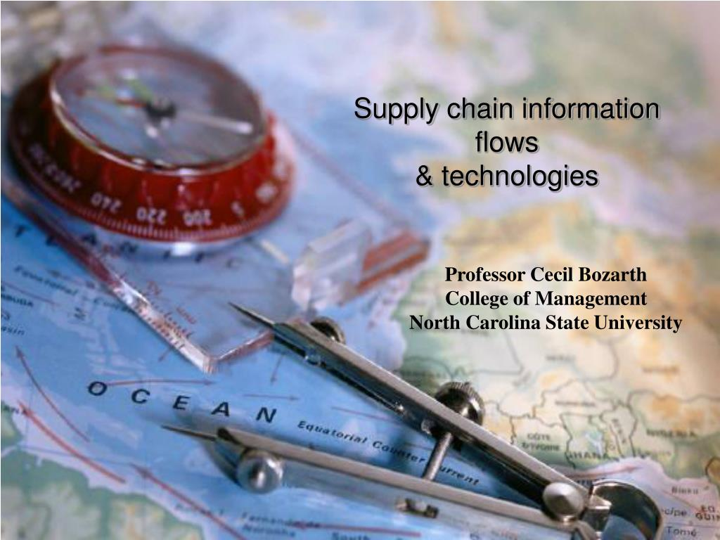 supply chain information flows technologies l.