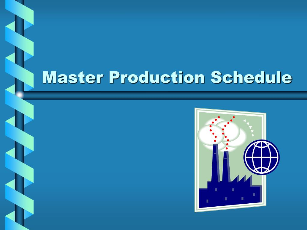 master production schedule l.
