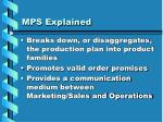 mps explained
