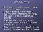 drp and mps