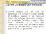 current caribbean usa relations