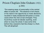 prison chaplain john graham 1922 p 266