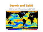 darwin and tahiti