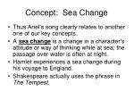 concept sea change