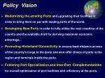 policy vision