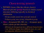 characterizing minerals