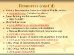 resources cont d47