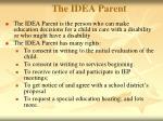 the idea parent
