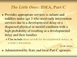 the little ones idea part c