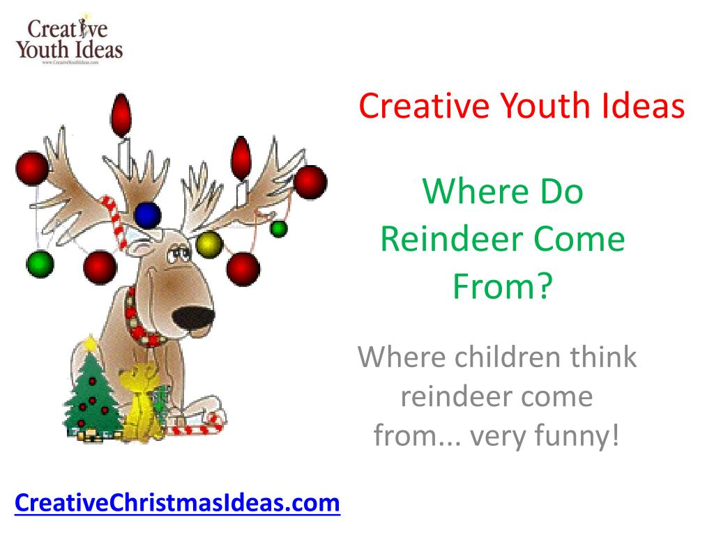 where do reindeer come from l.