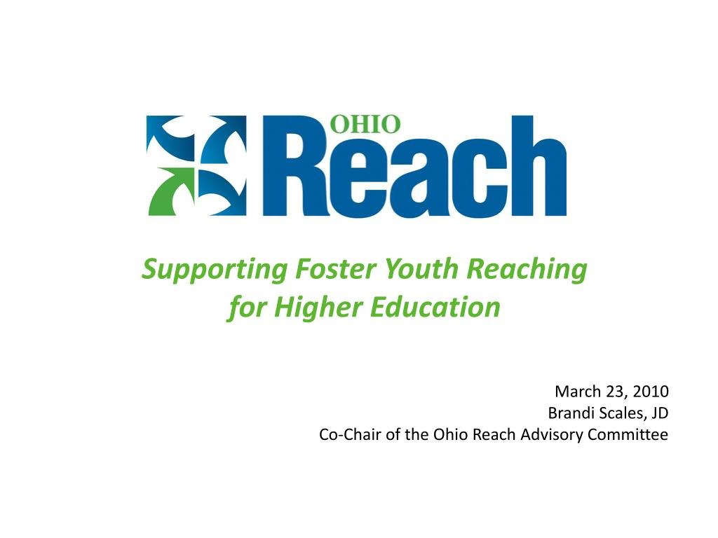 supporting foster youth reaching for higher education l.