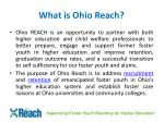 what is ohio reach