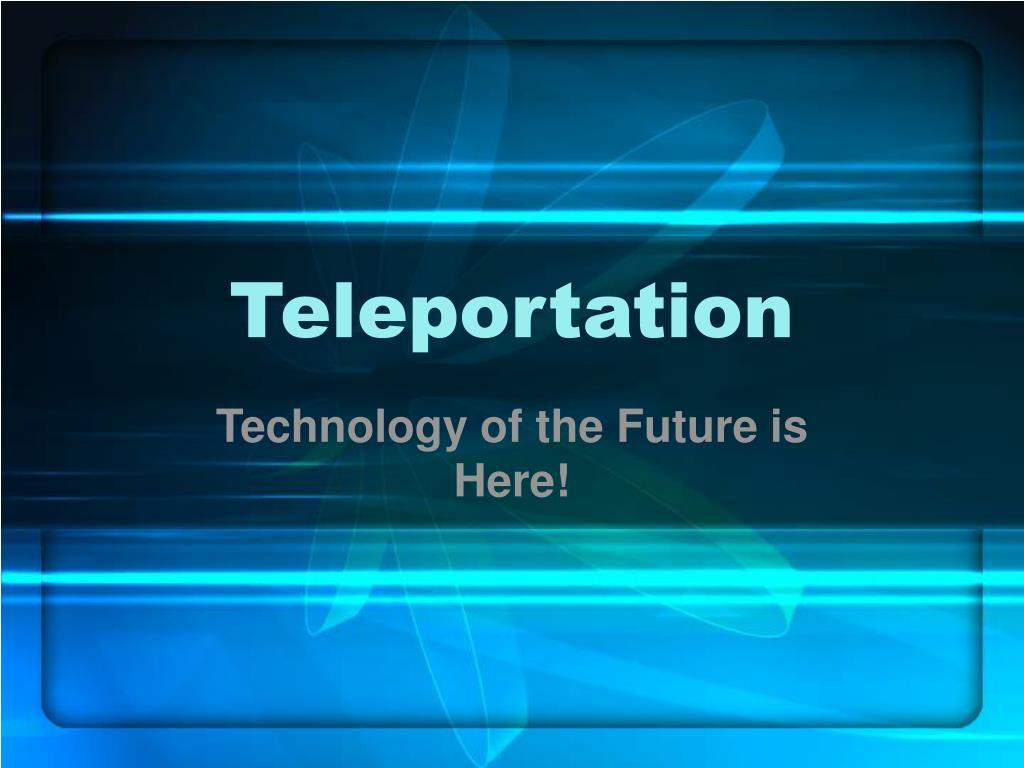 teleportation l.