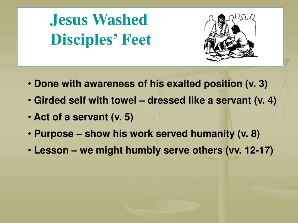 Jesus Washed