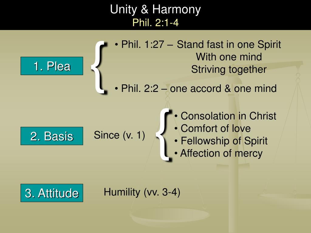 Unity & Harmony