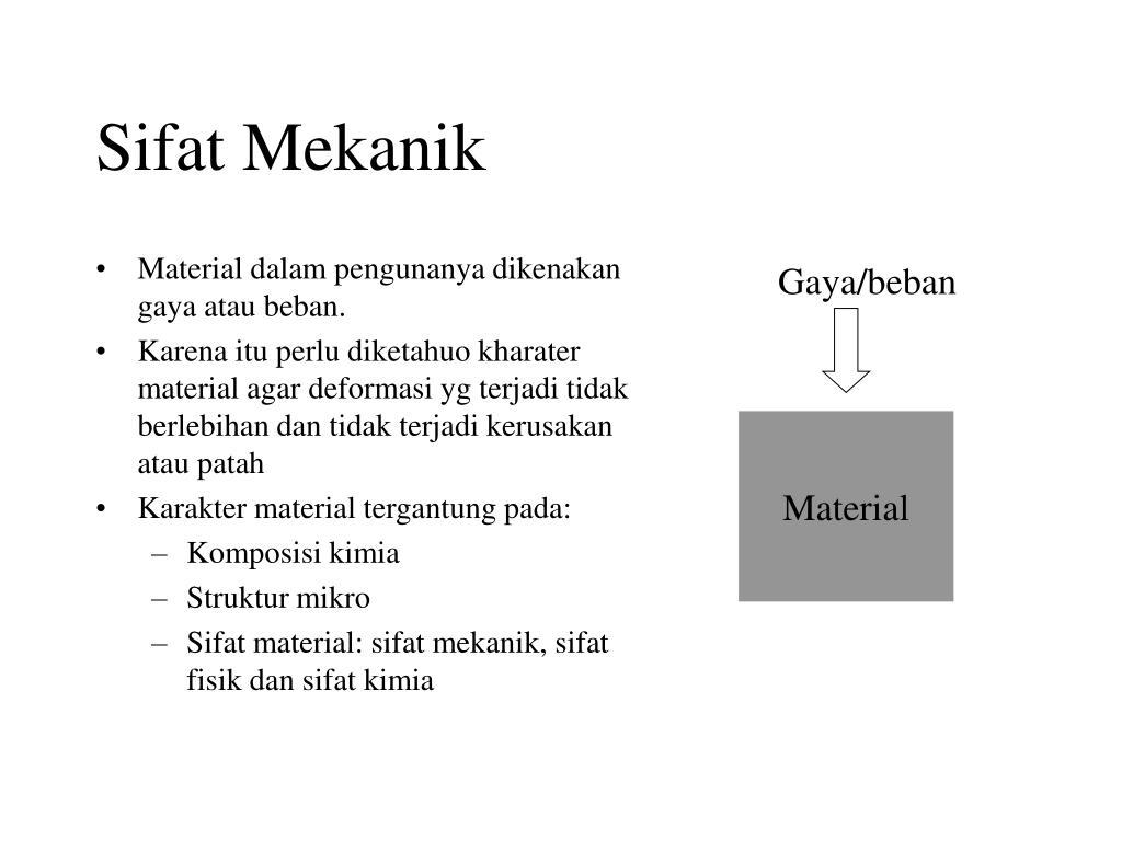 Sifat Mekanik