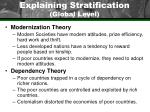 explaining stratification global level16