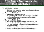 the class system in the united states44