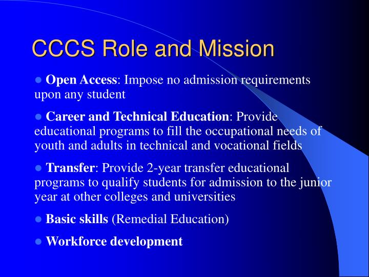 Cccs role and mission3