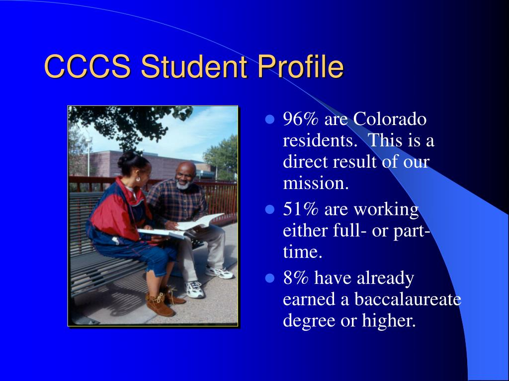 CCCS Student Profile