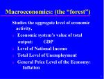 macroeconomics the forest