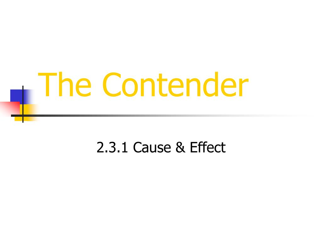 the contender l.