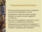 organizational functions5