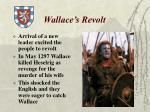wallace s revolt