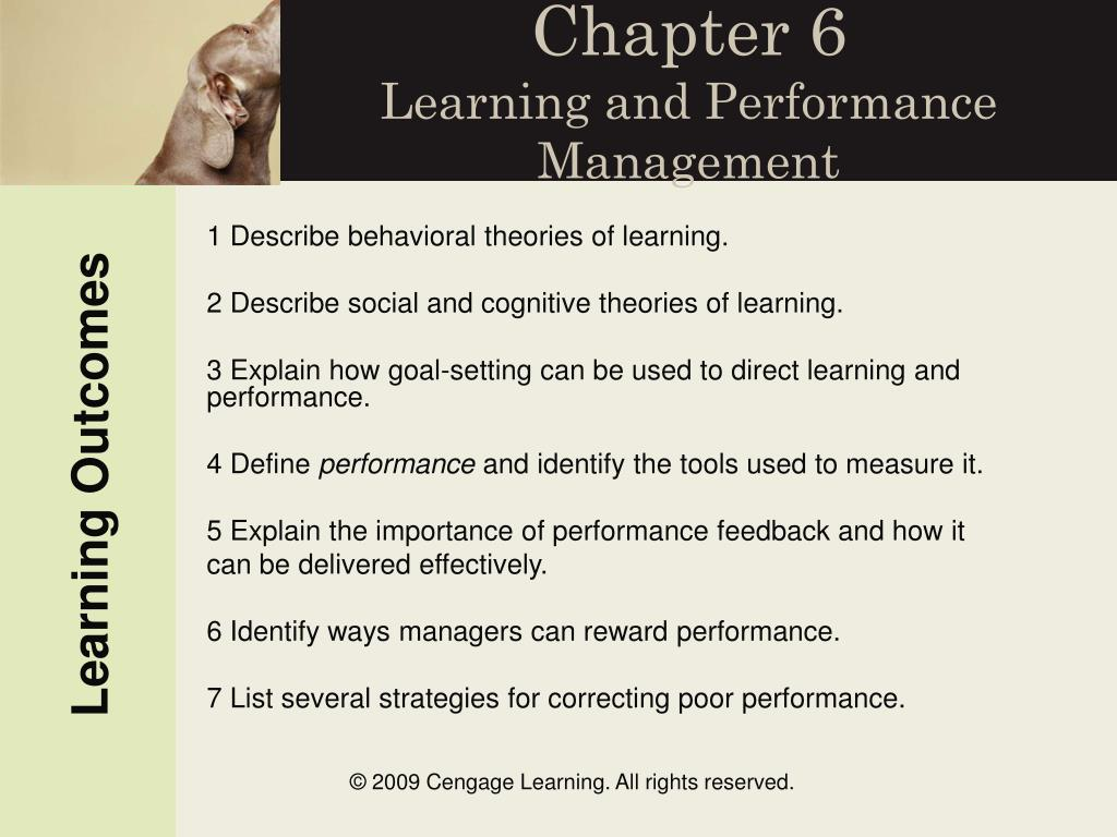 chapter 6 learning and performance management l.