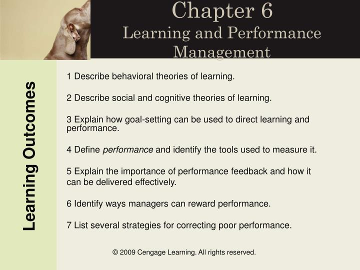 chapter 6 learning and performance management n.