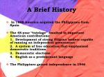 a brief history13