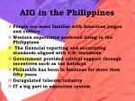 aig in the philippines