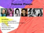 famous pinoys