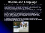 racism and language10