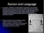 racism and language3