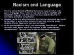 racism and language4