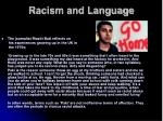 racism and language5