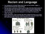 racism and language7