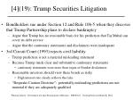 4 19 trump securities litigation