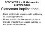 dese mets k 12 mathematics learning goals12