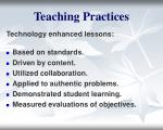 teaching practices