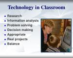 technology in classroom