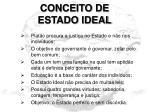 conceito de estado ideal