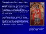 christopher the dog headed saint