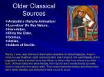 older classical sources