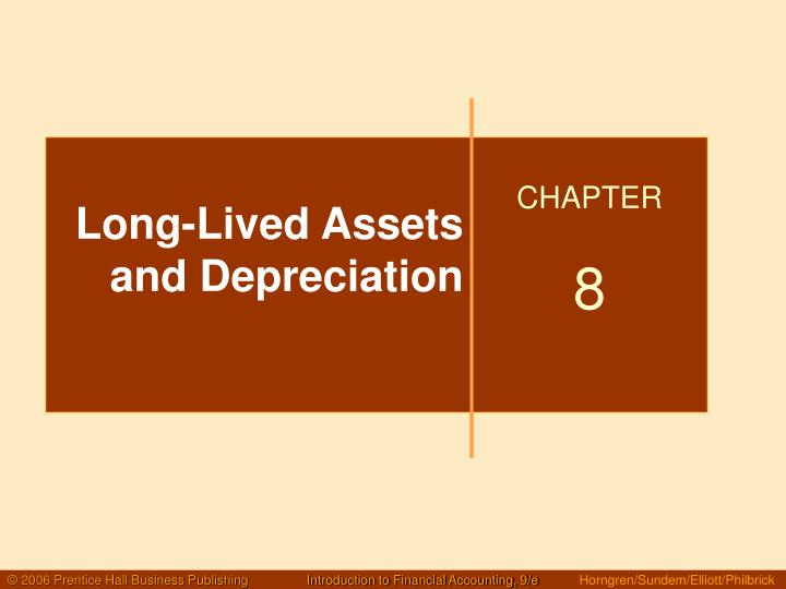 long lived assets and depreciation n.